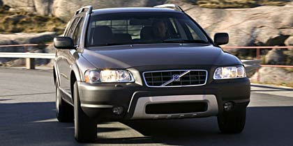 2005 Volvo XC70 wagon-why are you sticking your tongue out at me?