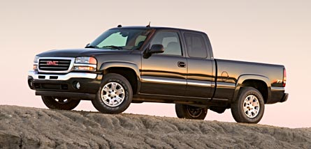 2005 gmc sierra 1500 extended cab hybrid review automobile magazine. Black Bedroom Furniture Sets. Home Design Ideas