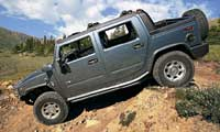 0410 Pl 2005 Hummer H2 SUT Drivers Side View