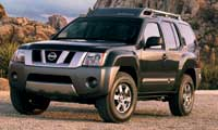 0410 Pl 2005 Nissan Xterra Front Drivers Side View