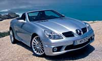 0410_pl Mercedes_Benz_SLK55_AMG Front_Passenger_Side_View