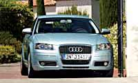 0410 Audi A3 2005 Audi A3 Full Front Grill View