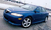 0410_6pl Mazda_6_Four_Seasons_Mazda_6 Driver_Side_Front_View