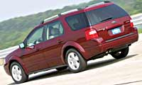 0410_pl 2005_Ford_Freestyle Rear_Drivers_Side_View