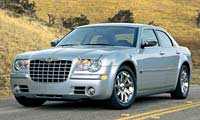 0405 1pl Chrysler 300 Chrysler 300 Full Front Grill View