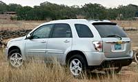 0405 Equinoxpl Chevrolet Equinox 2005 Chevrolet Equinox Driver Side Rear View