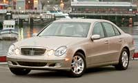0405_E320pl_Mercedes_Benz_E320_Cdi Mercedes_Benz_E320_CDI Driver_Side_Front_Grill_View