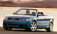 0407 Pl Audi S4 Cabriolet Front Drivers Side View