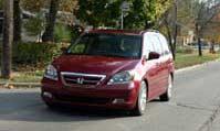 0411 Odyssey Pl Honda Odyssey 2005 Honda Odyssey Full Front View