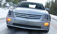 0501_Stspl_Cadillac_STS_V6 2005_Cadillac_STS_V_6 Full_Front_Grill_View