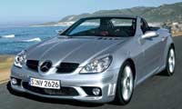 Pl Mercedes_Benz_SLK55 Front_Drivers_Side_View