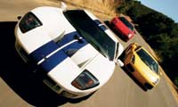 0412_Powertriopl_Awards_Power_Trio Ford_GT_And_Lamborghini_Gallardo_And_Ferrari_360_Modena Various_Front_Views