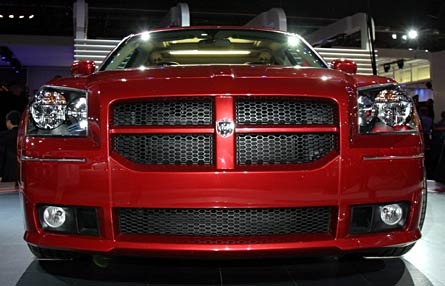 Dodge Magnum Srt Front Grille View