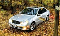 0502_Benzpl_Mercedes_Benz_E500_Four_Seasons 2003_Mercedes_Benz_E500 Full_Front_View