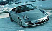 0504 Pl 2005 Porsche 911 Cabriolet Front Passenger Side View