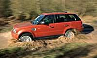 0505 Sportpl Land Rover Range Rover Sport 2006 Land Rover Range Rover Sport Full Driver Side View