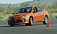 0505_Acrpl_Dodge_Srt4_Acr 2005_Dodge_SRT4_ACR Driver_Side_Front_View