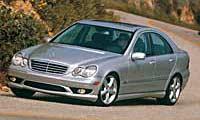 0505_C350pl_Mercedes_Benz_C350 2005_Mercedes_Benz_C350 Driver_Side_Front_View