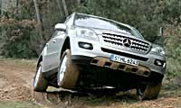 0505_Mlpl_Mercedes_Benz_Mclass 2006_Mercedes_Benz_Mclass Full_Front_Climbing_View