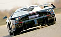 0506 Mc12pl Maserati Mc12 2005 Maserati MC12 Full Rear View