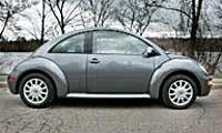 0506_Tdipl_Volkswagen_Beetle_Tdi 2005_Volkswagen_Beetle_TDI_DSG Full_Passenger_Side_View
