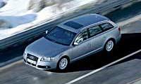 0506_pl 2005_Audi_A6_Avant_32_Quattro Overhead_Front_Drivers_Side_View