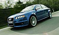 0507 Audi RS4 Rs4pl 2006 Audi RS4 Driver Side Front View