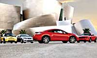 0507 Comparopl Eclipse RSX Mustang Cooper Mitsubishi Eclipse And Acura RSX And Ford Mustang And Mini Cooper Various Views