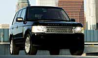 0507 Roverpl Land Rover Range Rover Supercharged 2005 Land Rover Range Rover Supercharged Full Front Grill View