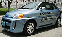 0108 Pl Honda FCX Front Drivers Side View