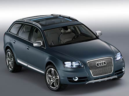Audi Allroad Concept, January 2005