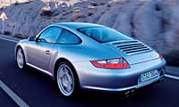 0509_C4spl_Porsche_911_C4s 2006_Porsche_911_C4S Driver_Side_Rear_View