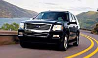 0510 Explorerpl Ford Explorer 2006 Ford Explorer Full Front Grill View