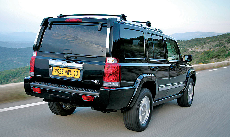 2006 Jeep Commander Limited 2wd: Road Test & Review