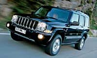 0511_Commanderpl_Jeep_Commander 2006_Jeep_Commander Driver_Side_Front_Grill_View
