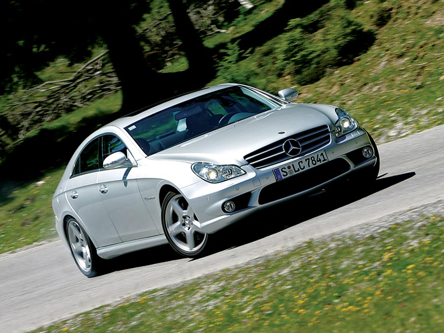 2006 bmw m6 vs mercedes benz cls55 amg road test for Mercedes benz cls55