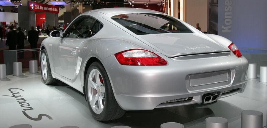 2007 porsche cayman 2006 detroit auto show automobile. Black Bedroom Furniture Sets. Home Design Ideas