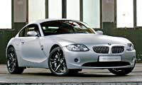 0512 Coupepl Bmw Z4 Coupe 2006 BMW Z4 Coupe Passenger Side Front View