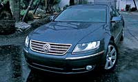 0512 Volkswagen Phaeton Phaetonpl 2004 Volkswagen Phaeton Front Grill View