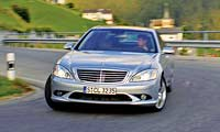 0512_Mercedes_Bens_Sclass_S500pl 2007_Mercedes_Benz_S550 Full_Front_Grill_View