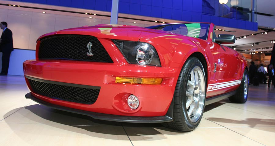 2007 Ford Mustang GT500 Convertible