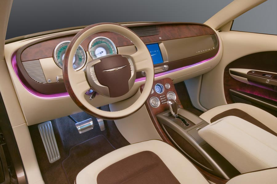 Naias Chrysler Imperial Concept Dashboard View