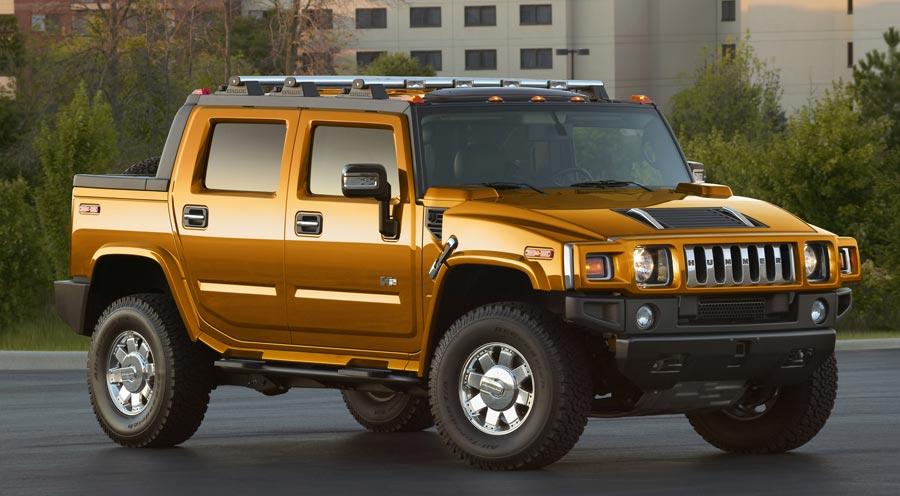 Hummer H2 Fusion Orange
