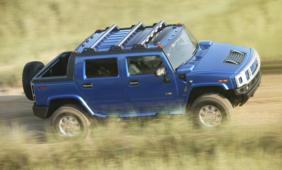 Hummer H2 Pacific Blue