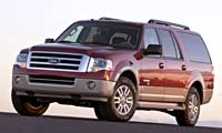 0603 Chicago Pl 2007 Ford Expedition El Front Right View