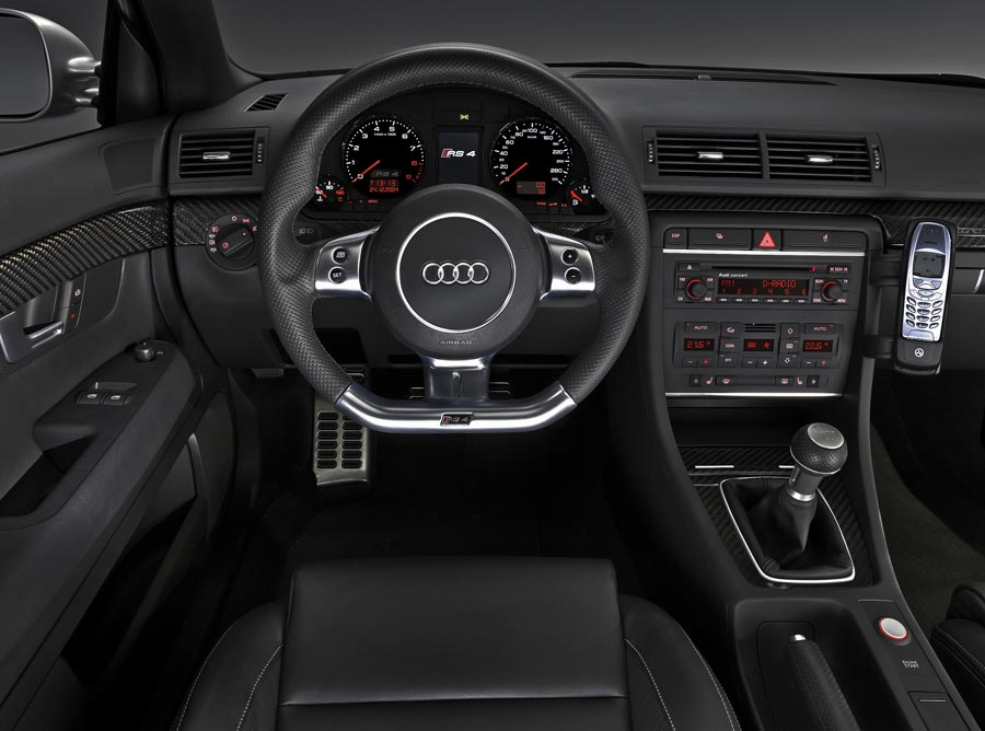 2007 Audi RS4 European Spec