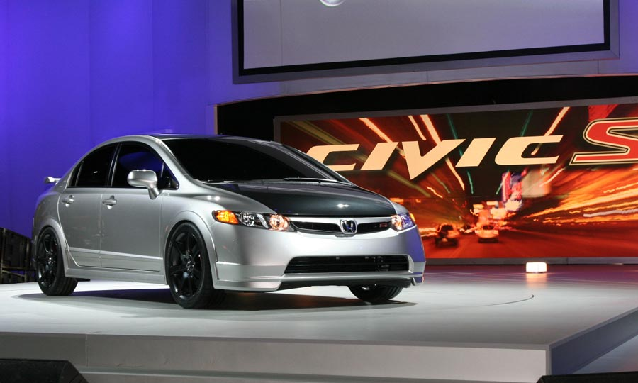 2010 Honda Civic Si Sedan Concept Car Pictures