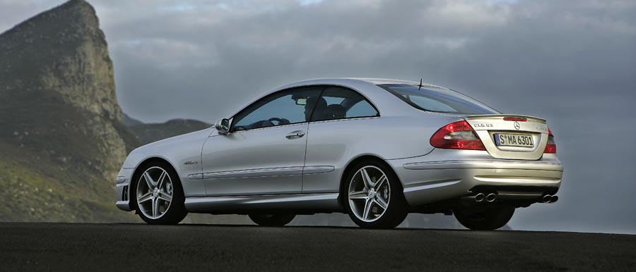 2007 Mercedes-Benz CLK63 AMG Coupe