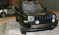 0509 01pl Jeep Patriot Concept Front Passenger Side View