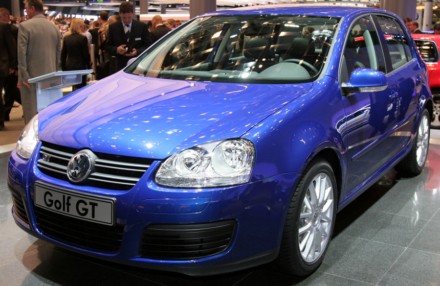The new and soon-to-be replaced fifth-generation Golf